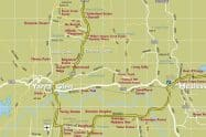 Wineries Map