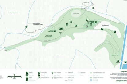 Yarra Reservoir Map