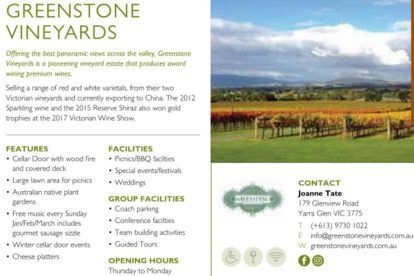 Greenstone Vineyards 01