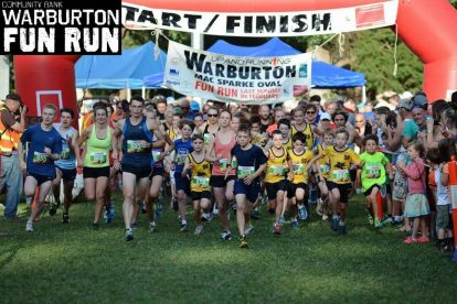 Warburton Up and Running Fun Run 1